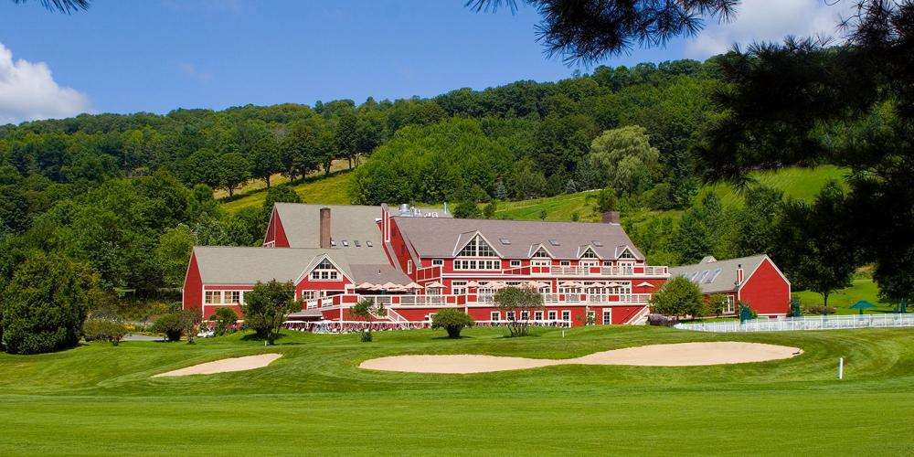 The Quechee Club Clubhouse